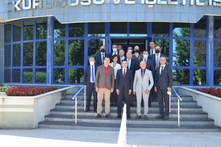Kazakistan Ticaret ve Entegrasyon Bakan Yardımcısının Avrupa Serbest Bölgesini Ziyareti
