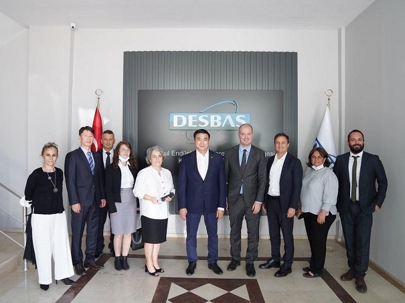 Moğolistan Başbakan Yardımcısı Sayın Amarsaikhan SAİNBUYAN'ın İstanbul Endüstri ve Ticaret Serbest Bölgesi'ni Ziyareti